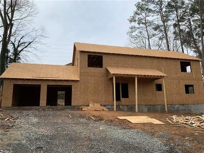 Acworth Single Family Home For Sale: 4619 Spring Street