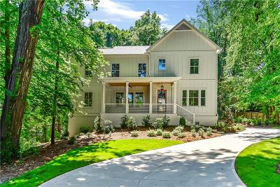 Pine Hills Single Family Home For Sale: 3311 W Roxboro Road NE