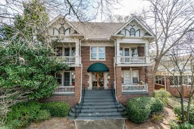 Virginia Highland Condo/Townhouse For Sale: 1071 N Highland Avenue NE #2