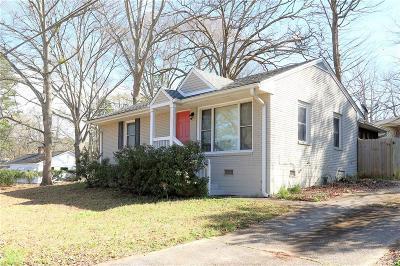Decatur Single Family Home For Sale: 642 Parker Avenue