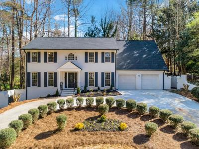 Atlanta Single Family Home For Sale: 1784 Castleway Lane