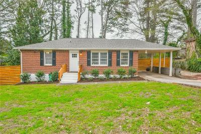 Decatur Single Family Home For Sale: 2473 Habersham Drive