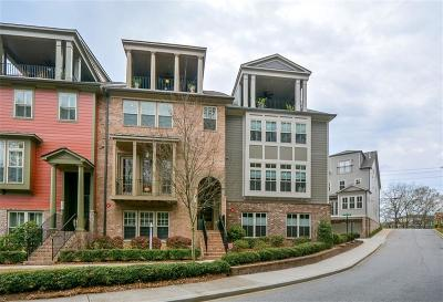 Atlanta Condo/Townhouse For Sale: 786 Corduroy Lane NE