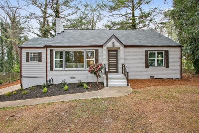 East Atlanta Single Family Home For Sale: 1215 Fayetteville Road SE