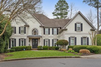 Roswell Single Family Home For Sale: 295 Steeple Point Drive