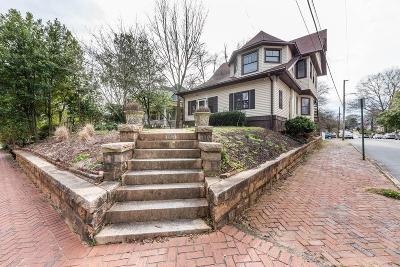 Atlanta Single Family Home For Sale: 809 Cherokee Avenue SE