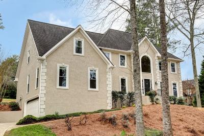 Roswell Single Family Home For Sale: 12135 Wexford Club Drive