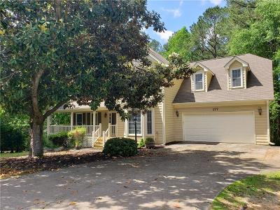 Acworth Single Family Home For Sale: 177 Picketts Lake Drive