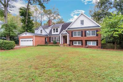 Atlanta Single Family Home For Sale: 1350 Battleview Drive NW