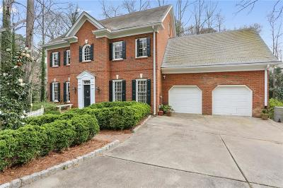 Atlanta Single Family Home For Sale: 4855 Franklin Pond