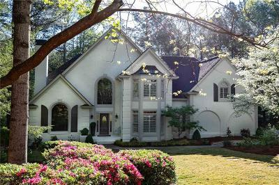 Roswell Single Family Home For Sale: 340 Buckingham Forest Court