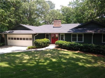 Roswell  Single Family Home For Sale: 740 Wickerberry Knolls