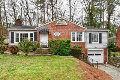 Morningside Single Family Home For Sale: 1786 N Rock Springs Road NE