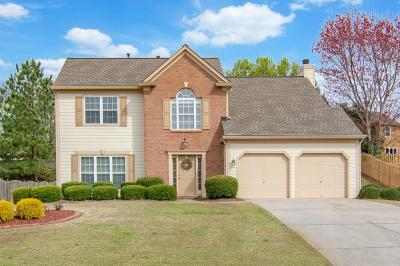 Cumming Single Family Home For Sale: 7045 Brassfield Drive