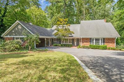 Atlanta Single Family Home For Sale: 3435 Valley Road NW