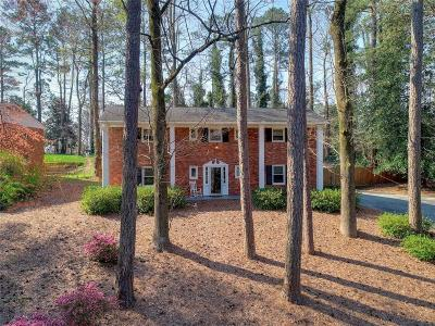 Dunwoody Single Family Home For Sale: 1553 Old Spring House Lane