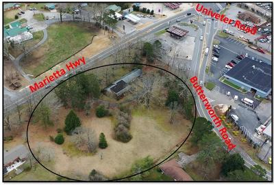 Canton Residential Lots & Land For Sale: 3174 Marietta Highway