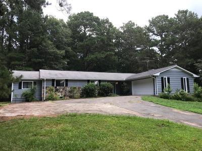 Loganville Single Family Home For Sale: 3725 Chandler Haulk Road