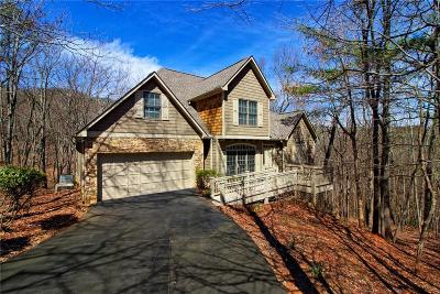 Big Canoe Single Family Home For Sale: 158 Woodstream Point