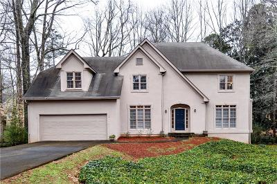 Alpharetta Single Family Home For Sale: 105 Hedge Lawn Trail