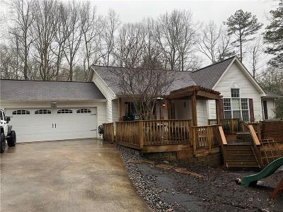 Lumpkin County Single Family Home For Sale: 57 Whitestone Lane