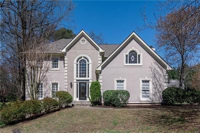 Alpharetta GA Single Family Home For Sale: $456,000