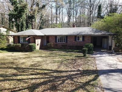 Single Family Home For Sale: 287 Brookwood Drive SW