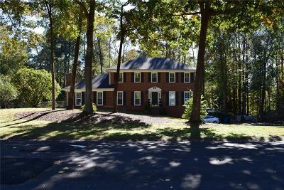 Alpharetta Single Family Home For Sale: 1010 Chantilly Drive