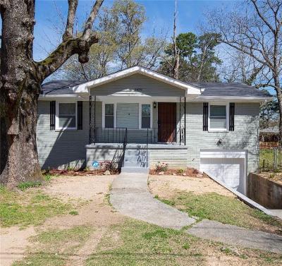 Atlanta Single Family Home For Sale: 3439 Oakcliff Road NW