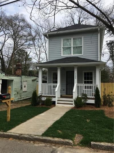 Atlanta Single Family Home For Sale: 1104 Hubbard Street SW