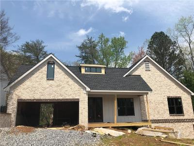 Dawson County, Forsyth County, Hall County, Lumpkin County Single Family Home For Sale: 3900 Samples Road