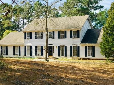 Fayetteville Single Family Home For Sale: 165 Dix Lee On Drive