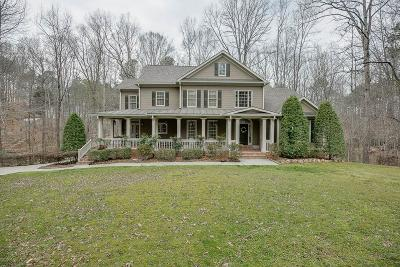 Suwanee Single Family Home For Sale: 58 Timberlost Trail