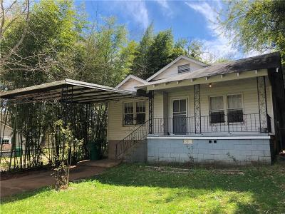 Atlanta Single Family Home For Sale: 1103 Hillcrest Drive SE
