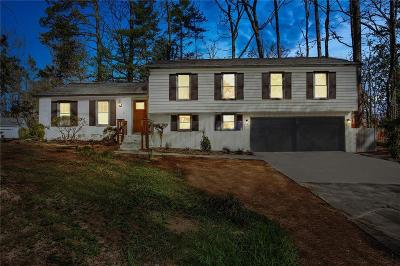 Marietta Single Family Home For Sale: 392 Lamplighter Lane SE