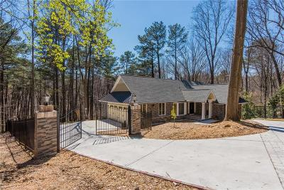 Marietta Single Family Home For Sale: 1268 Timberland Drive SE