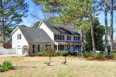 Snellville Single Family Home For Sale: 1661 Hickory Lake Drive