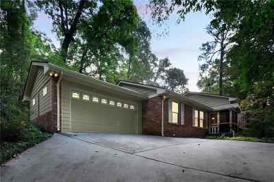 Sandy Springs Single Family Home For Sale: 5195 Timber Trail South