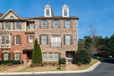 Marietta Condo/Townhouse For Sale: 576 Parkside Village Way