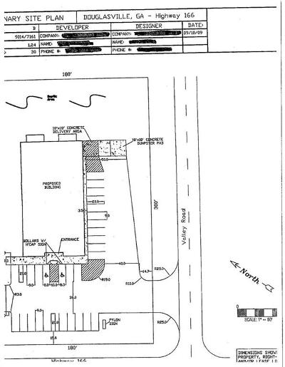 Douglas County Residential Lots & Land For Sale: Hwy 166 E