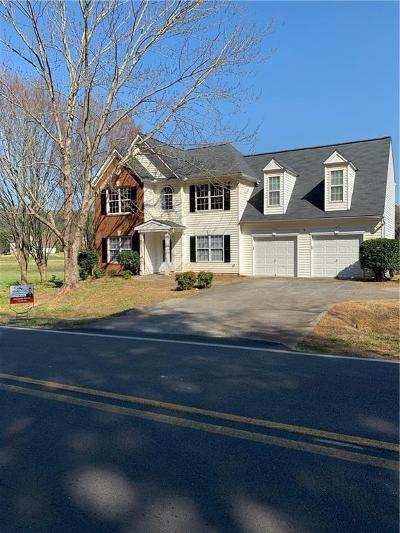 Cartersville Single Family Home For Sale: 197 Cline Smith Road NE