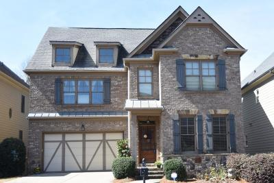 Suwanee Single Family Home For Sale: 3873 Ridge Grove Way