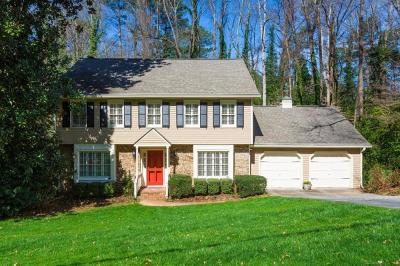 Single Family Home For Sale: 4650 Brook Hollow Road