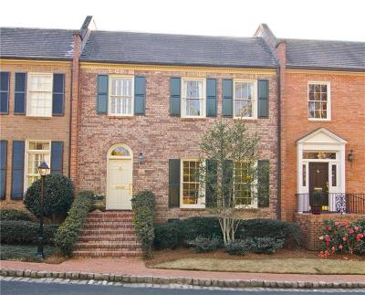 Atlanta Condo/Townhouse For Sale: 207 Townsend Place NW