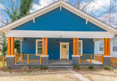 Single Family Home For Sale: 836 Gaston Street SW