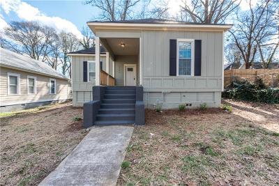 Atlanta Single Family Home For Sale: 1592 Elixir Avenue SW