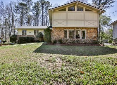 Atlanta Single Family Home For Sale: 3505 Dunwoody Club Drive