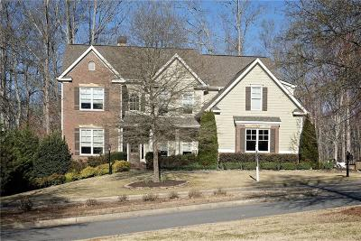 Ball Ground Single Family Home For Sale: 8525 Etowah Bluffs Road