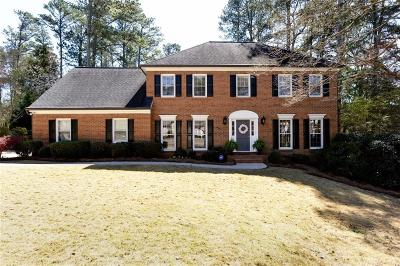 Marietta Single Family Home For Sale: 4914 Hampton Circle
