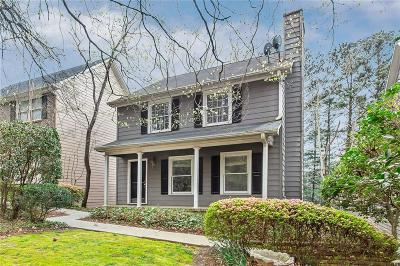 Atlanta Single Family Home For Sale: 2212 Defoors Ferry Road NW